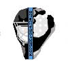 Floorball Goalie Logo Between the Posts