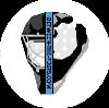 Floorball Goalie Logo Between the Posts